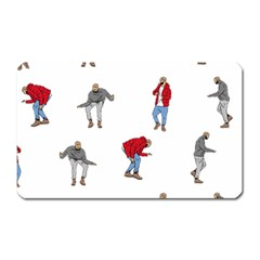 Drake Ugly Holiday Christmas Magnet (rectangular) by Onesevenart