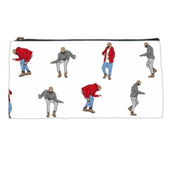Drake Ugly Holiday Christmas Pencil Cases by Onesevenart