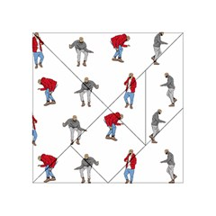 Drake Ugly Holiday Christmas Acrylic Tangram Puzzle (4  X 4 ) by Onesevenart