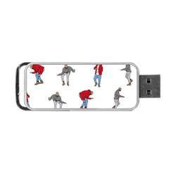 Drake Ugly Holiday Christmas Portable Usb Flash (one Side) by Onesevenart