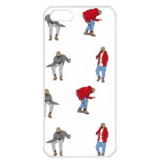 Drake Ugly Holiday Christmas Apple Iphone 5 Seamless Case (white) by Onesevenart