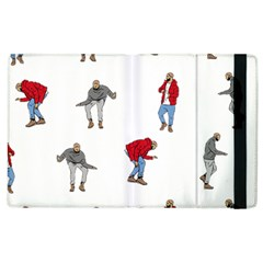 Drake Ugly Holiday Christmas Apple Ipad 3/4 Flip Case by Onesevenart