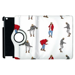 Drake Ugly Holiday Christmas Apple Ipad 2 Flip 360 Case by Onesevenart
