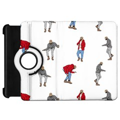 Drake Ugly Holiday Christmas Kindle Fire HD Flip 360 Case by Onesevenart