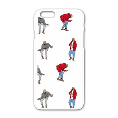 Drake Ugly Holiday Christmas Apple Iphone 6/6s White Enamel Case by Onesevenart