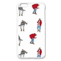 Drake Ugly Holiday Christmas Apple Iphone 6 Plus/6s Plus Enamel White Case by Onesevenart