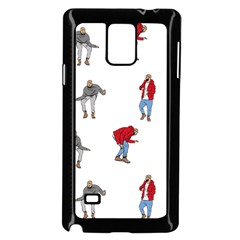 Drake Ugly Holiday Christmas Samsung Galaxy Note 4 Case (black) by Onesevenart