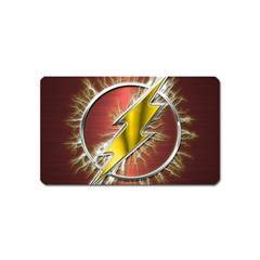 Flash Flashy Logo Magnet (name Card) by Onesevenart