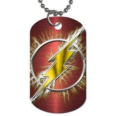 Flash Flashy Logo Dog Tag (two Sides) by Onesevenart
