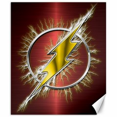 Flash Flashy Logo Canvas 20  X 24   by Onesevenart