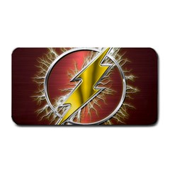 Flash Flashy Logo Medium Bar Mats by Onesevenart