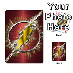 Flash Flashy Logo Multi Purpose Cards (rectangle)  by Onesevenart
