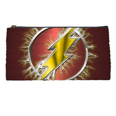 Flash Flashy Logo Pencil Cases by Onesevenart