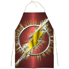 Flash Flashy Logo Full Print Aprons by Onesevenart