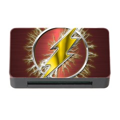 Flash Flashy Logo Memory Card Reader With Cf by Onesevenart