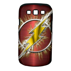 Flash Flashy Logo Samsung Galaxy S Iii Classic Hardshell Case (pc+silicone) by Onesevenart