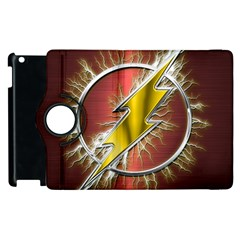 Flash Flashy Logo Apple Ipad 2 Flip 360 Case by Onesevenart