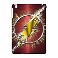 Flash Flashy Logo Apple Ipad Mini Hardshell Case (compatible With Smart Cover) by Onesevenart