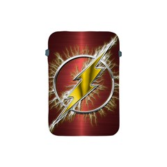 Flash Flashy Logo Apple Ipad Mini Protective Soft Cases by Onesevenart