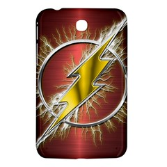 Flash Flashy Logo Samsung Galaxy Tab 3 (7 ) P3200 Hardshell Case  by Onesevenart