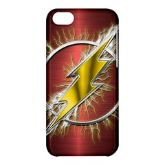 Flash Flashy Logo Apple Iphone 5c Hardshell Case by Onesevenart
