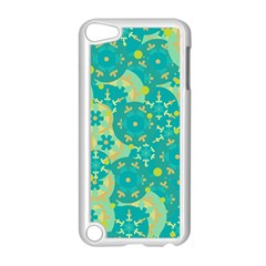 Cyan Design Apple Ipod Touch 5 Case (white) by Valentinaart