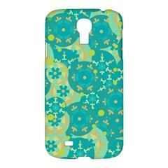 Cyan Design Samsung Galaxy S4 I9500/i9505 Hardshell Case by Valentinaart