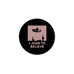 I Juan To Believe Ugly Holiday Christmas Black Background Golf Ball Marker (10 Pack) by Onesevenart