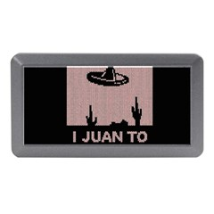 I Juan To Believe Ugly Holiday Christmas Black Background Memory Card Reader (mini) by Onesevenart