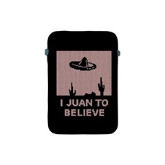 I Juan To Believe Ugly Holiday Christmas Black Background Apple Ipad Mini Protective Soft Cases by Onesevenart