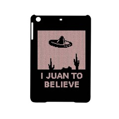 I Juan To Believe Ugly Holiday Christmas Black Background Ipad Mini 2 Hardshell Cases by Onesevenart
