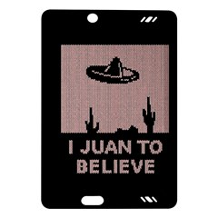 I Juan To Believe Ugly Holiday Christmas Black Background Amazon Kindle Fire Hd (2013) Hardshell Case by Onesevenart