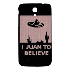 I Juan To Believe Ugly Holiday Christmas Black Background Samsung Galaxy Mega I9200 Hardshell Back Case by Onesevenart