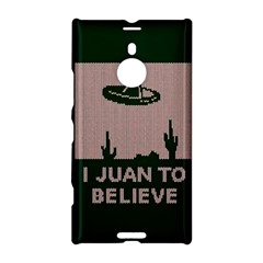 I Juan To Believe Ugly Holiday Christmas Green Background Nokia Lumia 1520 by Onesevenart
