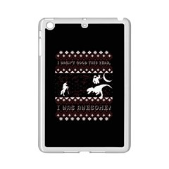 I Wasn t Good This Year, I Was Awesome! Ugly Holiday Christmas Black Background Ipad Mini 2 Enamel Coated Cases by Onesevenart