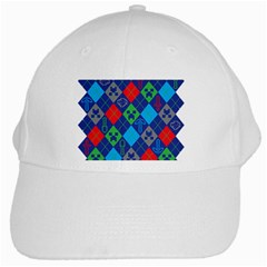 Minecraft Ugly Holiday Christmas White Cap by Onesevenart