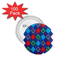 Minecraft Ugly Holiday Christmas 1 75  Buttons (100 Pack)  by Onesevenart
