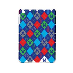Minecraft Ugly Holiday Christmas Ipad Mini 2 Hardshell Cases by Onesevenart