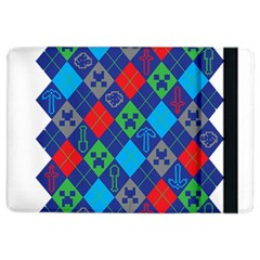 Minecraft Ugly Holiday Christmas Ipad Air 2 Flip by Onesevenart