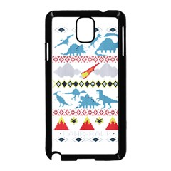 My Grandma Likes Dinosaurs Ugly Holiday Christmas Samsung Galaxy Note 3 Neo Hardshell Case (black) by Onesevenart