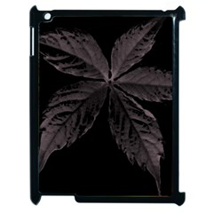 Pink Xray Flower Apple Ipad 2 Case (black) by AnjieMakes