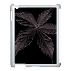 Pink Xray Flower Apple Ipad 3/4 Case (white) by AnjieMakes