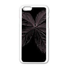 Pink Xray Flower Apple Iphone 6/6s White Enamel Case by AnjieMakes