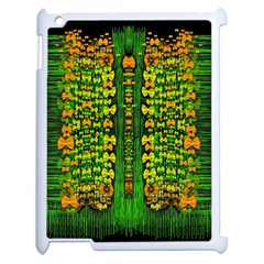 Magical Forest Of Freedom And Hope Apple Ipad 2 Case (white) by pepitasart