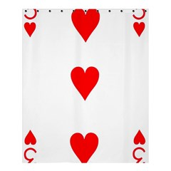 Cart Heart 03 Tre Cuori Shower Curtain 60  X 72  (medium)