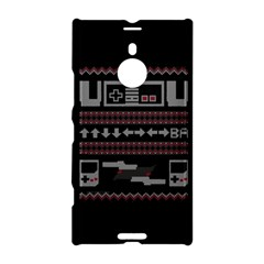 Old School Ugly Holiday Christmas Black Background Nokia Lumia 1520 by Onesevenart