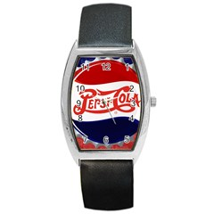 Pepsi Cola Barrel Style Metal Watch by Onesevenart