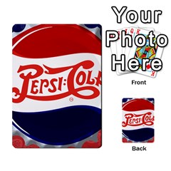 Pepsi Cola Multi Purpose Cards (rectangle)  by Onesevenart