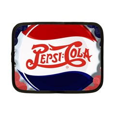 Pepsi Cola Netbook Case (small)  by Onesevenart