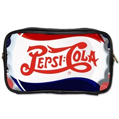 Pepsi Cola Toiletries Bags by Onesevenart